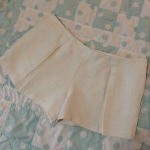 LN 🍃 Tory Burch, Cotton, Linen, Silk Blend Shorts